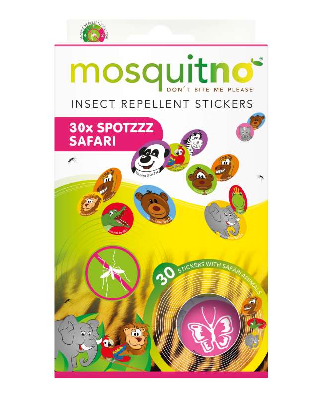 Insect Repellent SpotZzz - 30 stickers